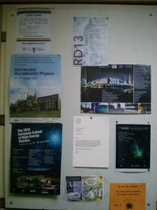CERN anslagstavla