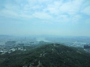 Utsikt över Seoul.