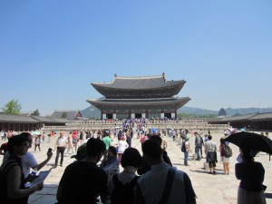 Det största palatset i Seoul.